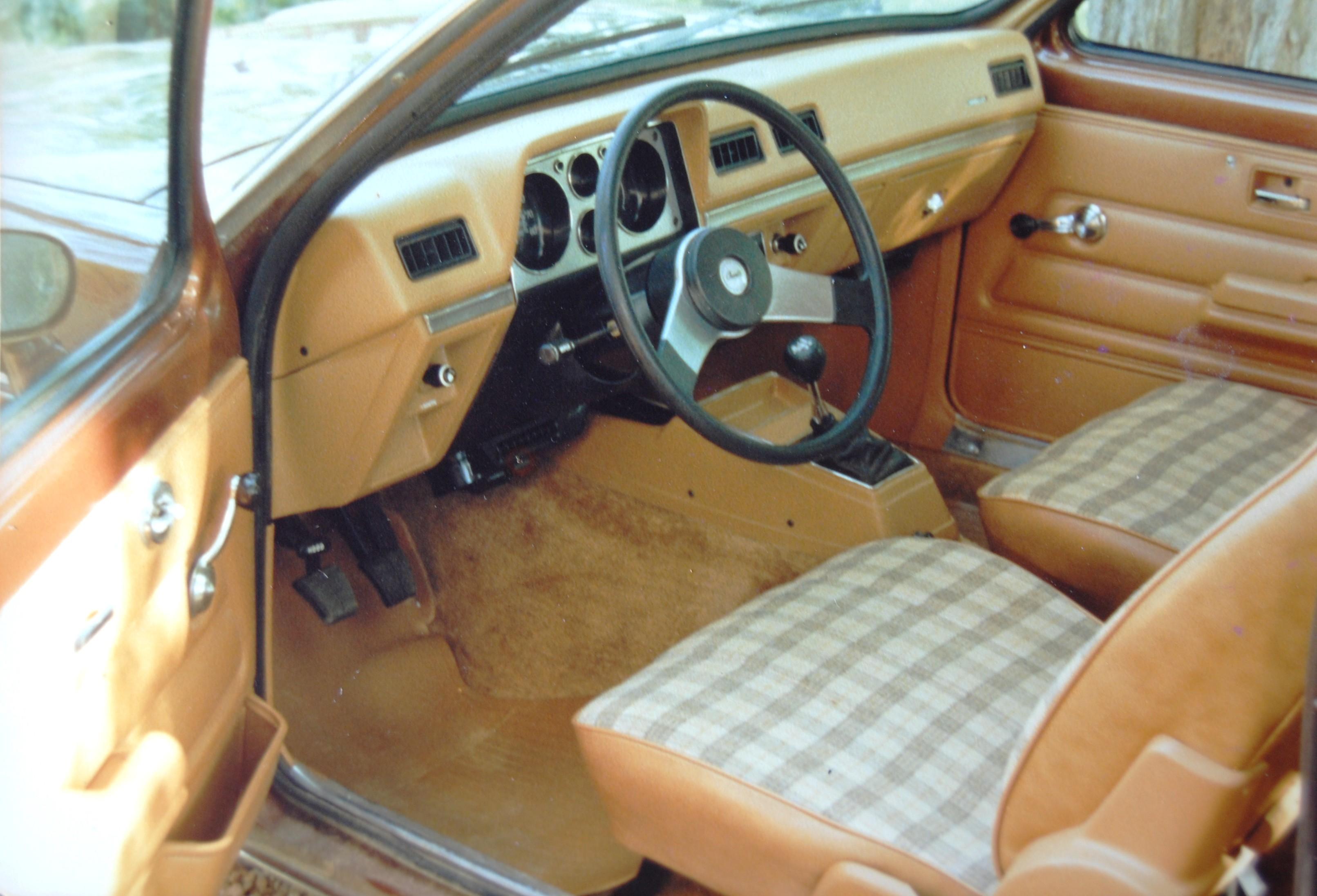 1980 Chevette Interior