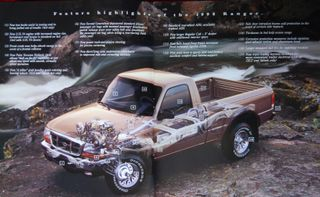 in 1998 the current fourth generation ranger debuted the ranger