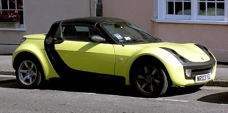 Midget smart car